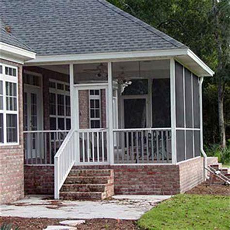 screen porch systems screen porch systems niece lumber