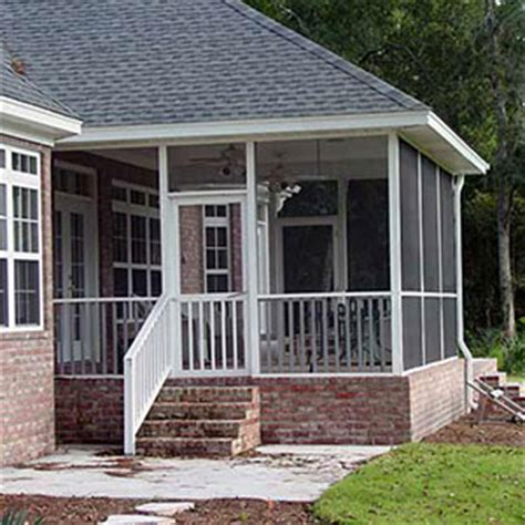 Screen Porch Systems  Niece Lumber