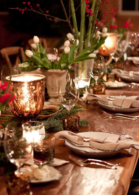 lonny editors  christmas  festive country dinner party