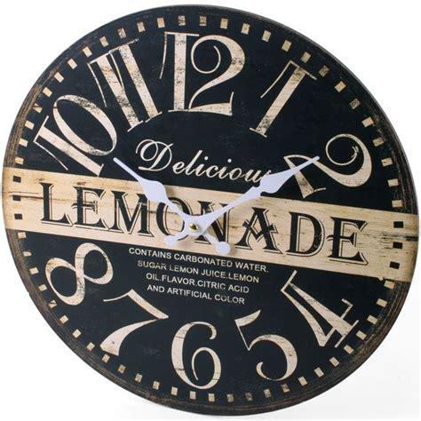 shabby chic kitchen clock large vintage rustic wall clocks shabby chic kitchen home french farmhouse beach ebay