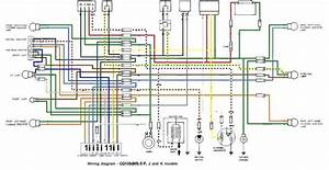 Honda Motorcycle Electrical Diagram And Honda Xrm Wiring