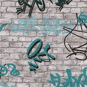 Tapete Jugendzimmer Junge : tapete jugendzimmer young spirit mauer graffiti wei grau ~ Michelbontemps.com Haus und Dekorationen