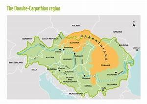 carpathian mountains map, file:east carpathian biosphere ...
