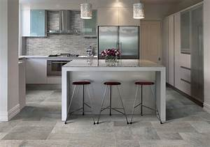 Ceramic & Porcelain Tile ideas - Contemporary - Kitchen