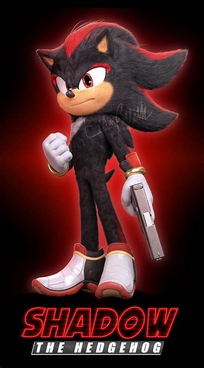 Sonic Shadow Movie Hedgehog Action Sequel Character