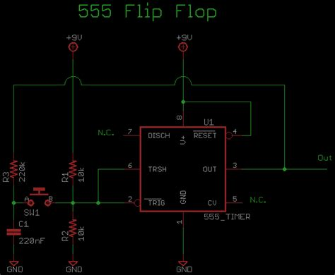 flip flop circuit schematic  repository circuits