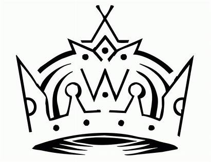 Coloring King Pages Crowns Crown Template Kings
