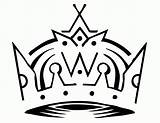 Coloring King Pages Crowns Crown Template Kings Clipart Popular sketch template