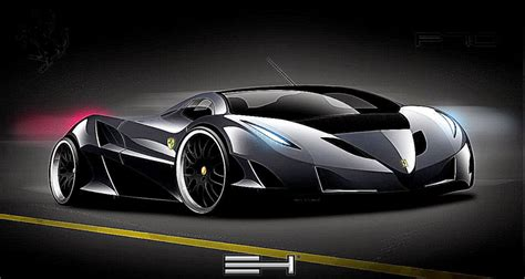 Black Ferrari Cars Wallpapers Hd
