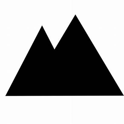 Svg Mountain Icon Commons Transparent Pixels Wikipedia