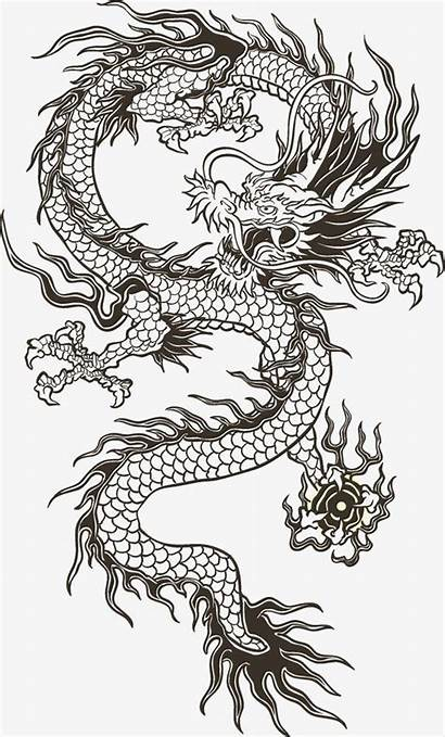Dragon Chinese Tattoo Clipart Japanese Tattoos Designs