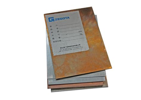 lightweight copper clad stainless steel sheet high