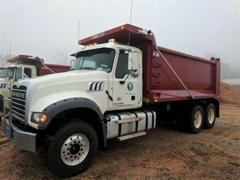 mack dump truck 2017 mack gu713 dump truck for sale montgomery al