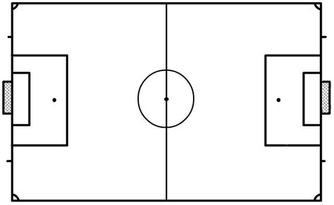 Blank Football Field Template by Blank Football Pitch Template I4jha8u Templates Data