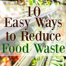 10 Ways To Reduce Food Waste  Graceful Little Honey Bee