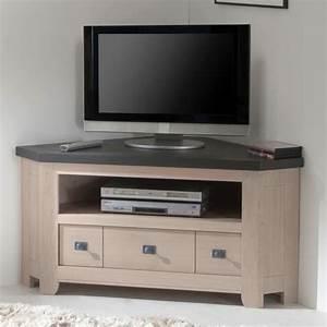 Meuble D Angle Pour Tv : meuble television angle meuble d angle tv pas cher ~ Teatrodelosmanantiales.com Idées de Décoration
