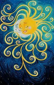 40 best Sun and Moon Art images on Pinterest | Sun moon ...