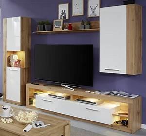 Fernsehtisch Weiß Hochglanz : tv lowboard rock wei hochglanz und wotan eiche 200 cm ~ Yasmunasinghe.com Haus und Dekorationen