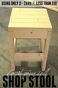 DIY Shop Stool Quick Easy Tutorial Today39s Creative