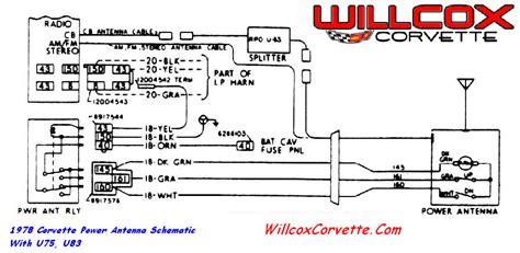 Corvette Power Antenna Schematic Willcox Inc