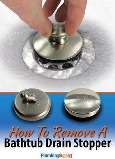 remove  bathtub drain stopper home decor