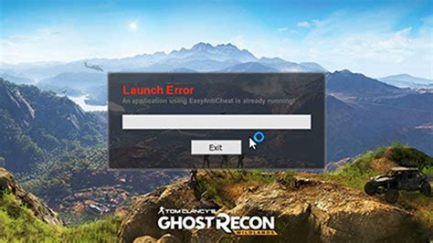 fix easy anti cheat    ghost recon
