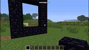 TUTO Minecraft Comment Faire Un Portail Vers Le Nether