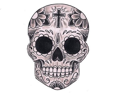 Day Of The Dead Skull Coloring Pages Bestofcoloringcom