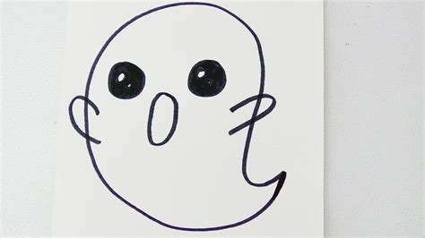 kawaii gespenst   minute zu halloween suesser geist fuer
