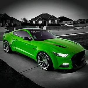 2017 Lime Green Mustang | Convertible Cars