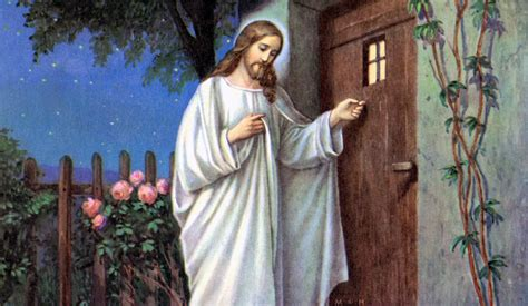 jesus knocking at the door why becoming honest with yourself reduces your stress