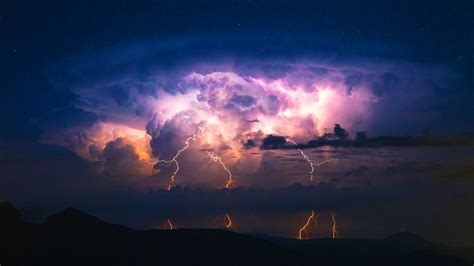 Animated Thunderstorm Wallpaper - thunderstorm desktop wallpaper 61 images