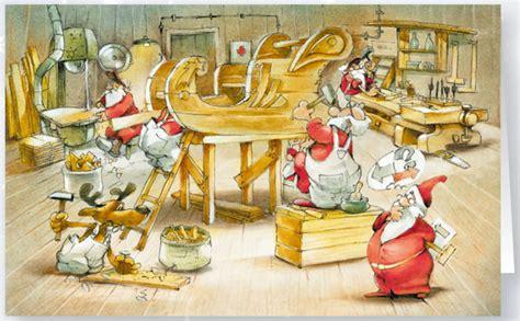 weihnachtskarte holzhandwerk schreinerei branchenkarte