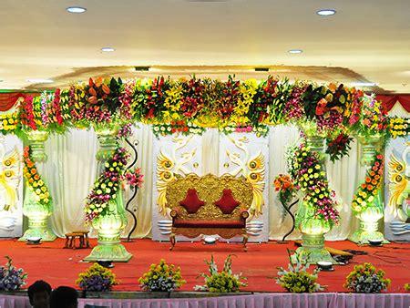 telugu web world south indian wedding stages  backdrops