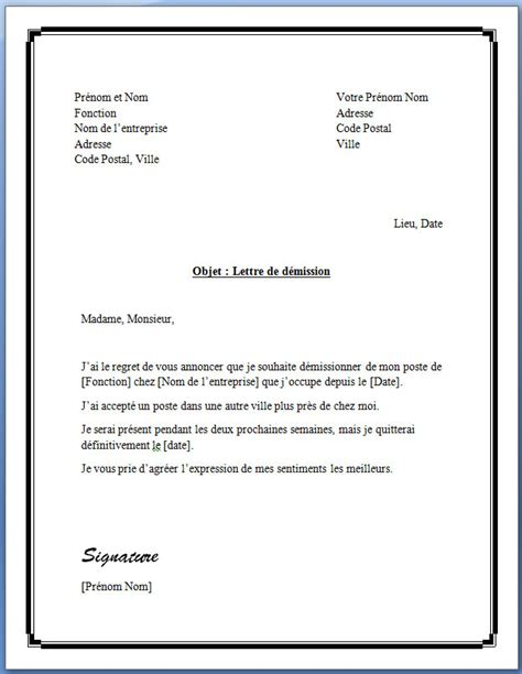 modele lettre préavis 1 mois trouver modele lettre de preavis 1 mois rsa
