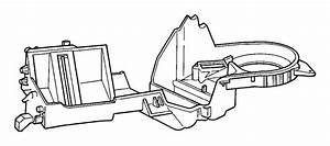 Jeep Grand Cherokee Hvac Mode Door  Auto Controls  Floor