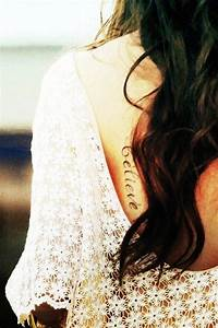 Charming Black Small Quote Tattoos For Girls – Hot Back ...