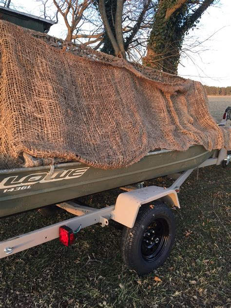 Jon Boat Trailer Rebuild by Jon Boat With Rebuilt Trailer Tinboats Net