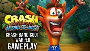 Crash Bandicoot N Sane Trilogy Gameplay Crash Bandicoot