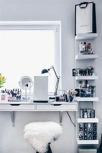 Nagellack Regal Ikea : meine neue schminkecke inklusive praktischer kosmetikaufbewahrung dressing makeup room ideas ~ Markanthonyermac.com Haus und Dekorationen