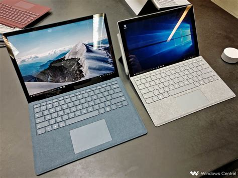 should you buy microsoft s surface pro or surface laptop windows central