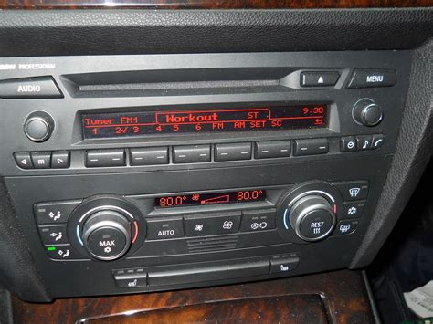 radio bmw professional bmw professional radio with hifi chrome knobs
