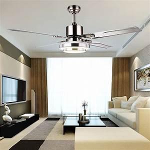 Fashion ceiling fan lights retro style lamps bedroom