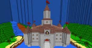 Mario 64: The Mushroom Castle Minecraft Pixel Art Know