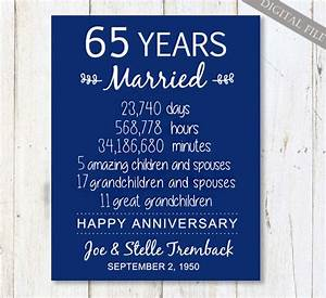 65th wedding anniversary gift for parents 65 years wedding for 65 year wedding anniversary gifts