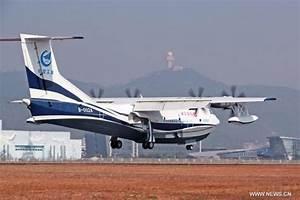 China's homegrown AG600 amphibious aircraft makes maiden ...