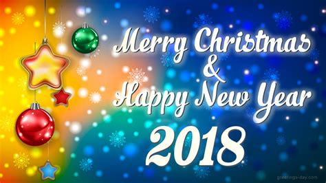 merry christmas happy  year greeting cards