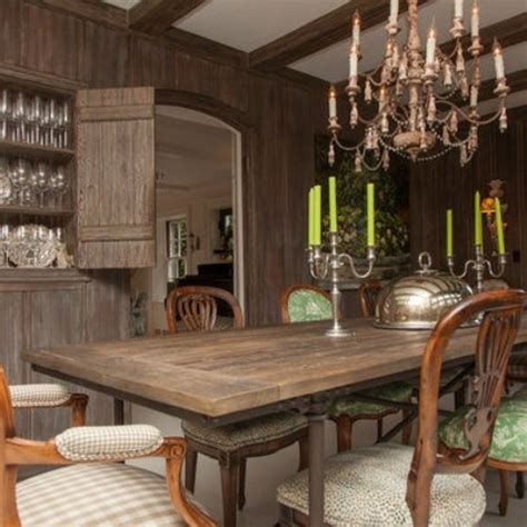 calm  airy rustic dining room designs digsdigs