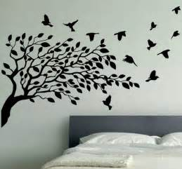 wallpaper wall decals stickers vinyl removable birdcage bird tree bird wallpaper stickers