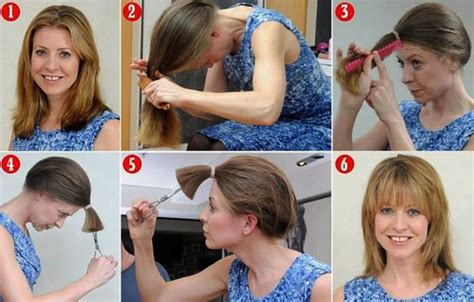 easy way to style hair 5 easy ways to layer cut your own hair at home gymbuddy now 4053